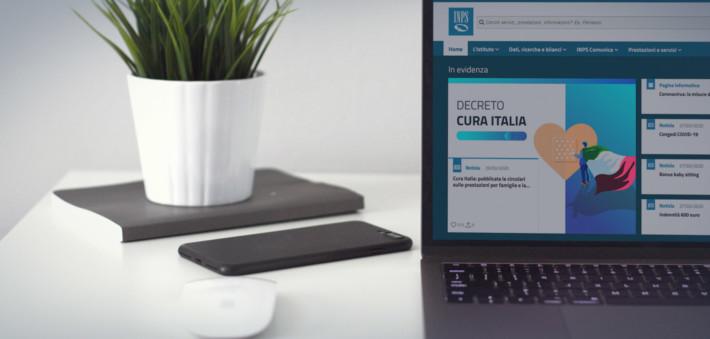 Sul sito dell'INPS disponibile la richiesta per il bonus 600 euro p.iva